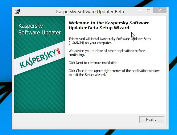 kaspersky updater program