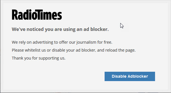 Q&A - How to stop pop-up asking to disable AdBlocker? | MalwareTips
