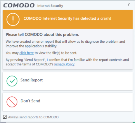 Update - Comodo Internet Security v10 0 2 6396 Released