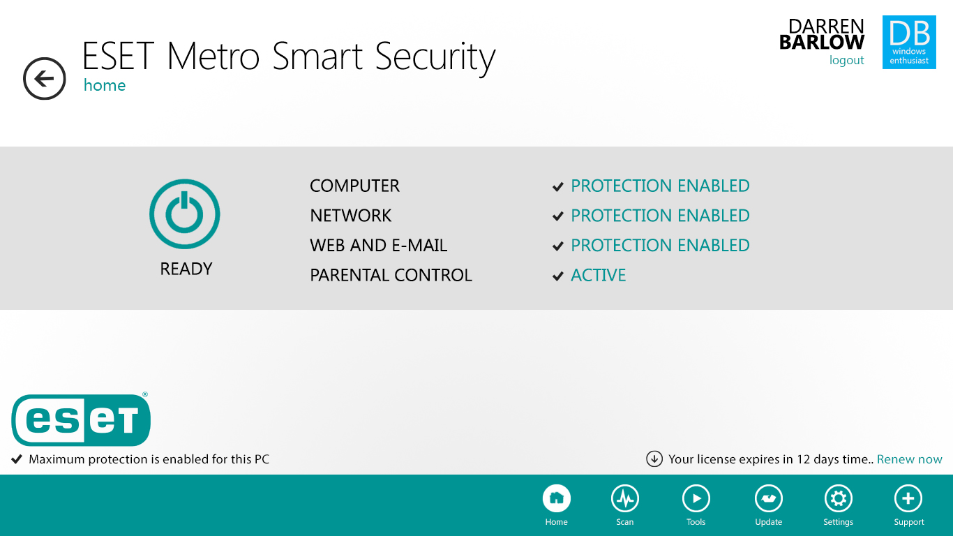 Eset nod32 smart security 3.0.621 patch new