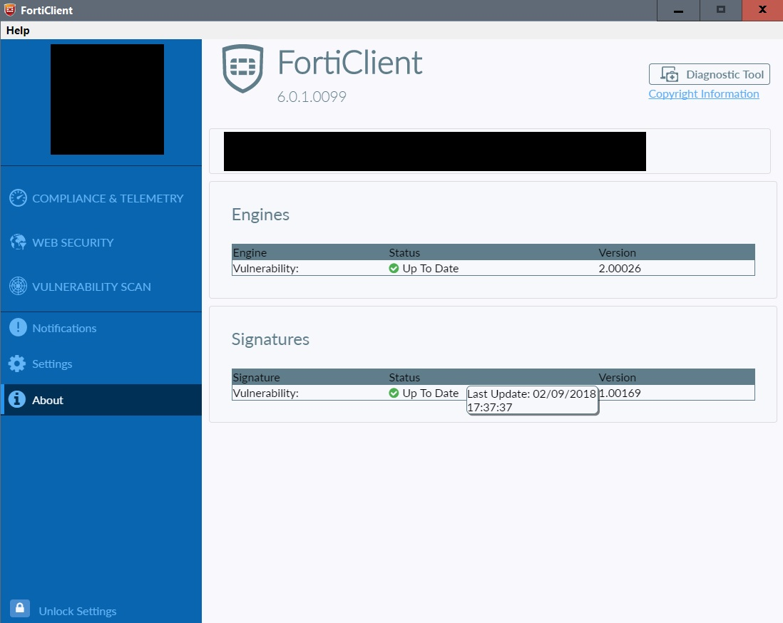 Update - FortiClient 6 0 0 (Windows) | MalwareTips Community