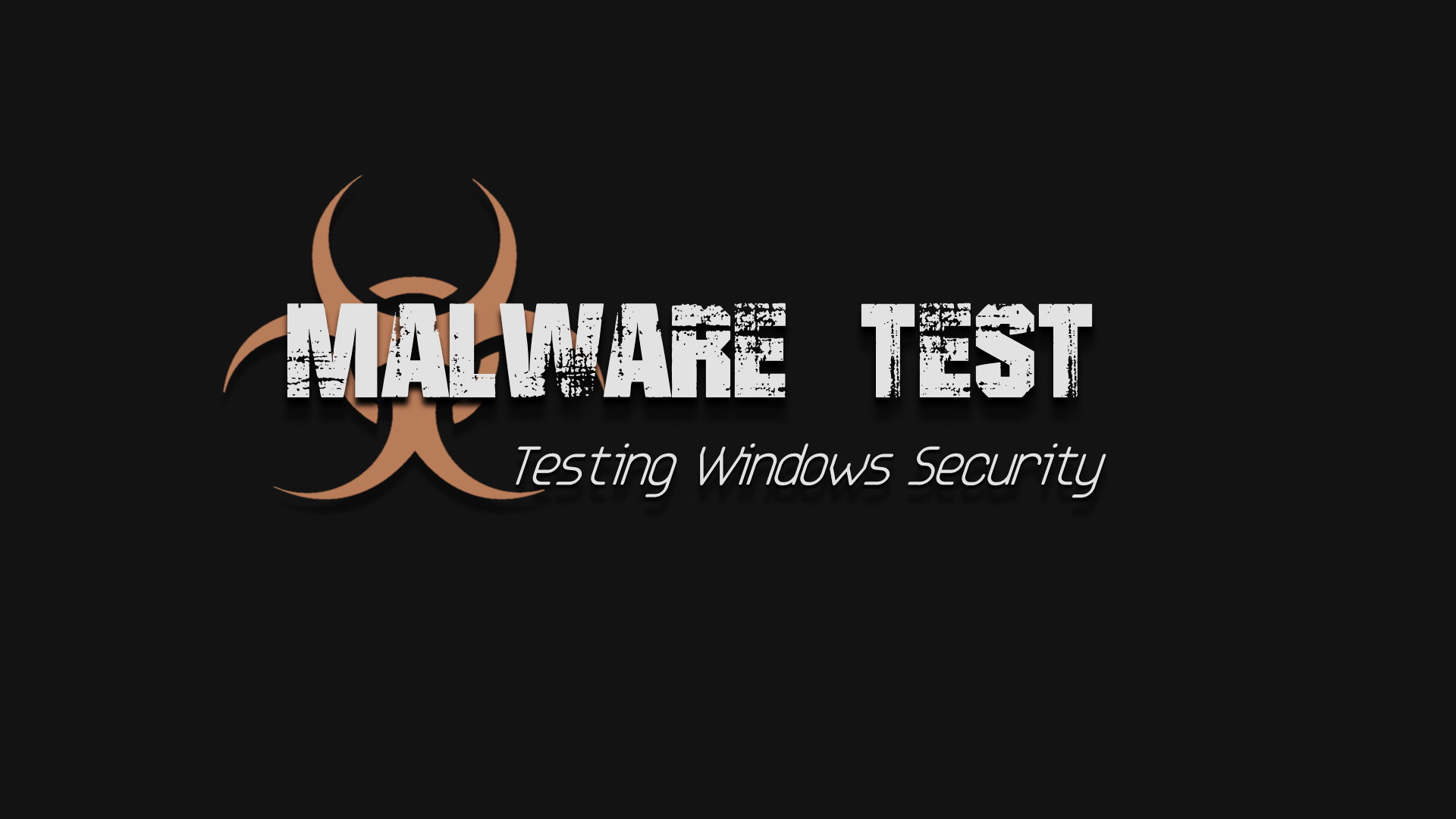 malware test wallpaper