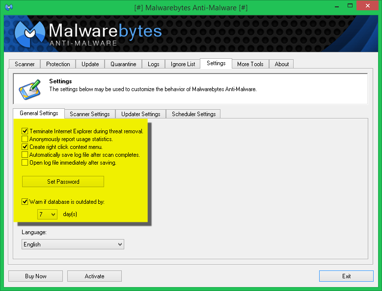 malwarebytes 1.75 old version