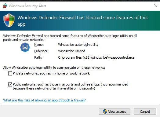 Troubleshoot - Windows Defender Firewall | MalwareTips Community