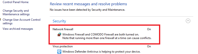 Q&A - With COMODO, should Window's Firewall be shut off