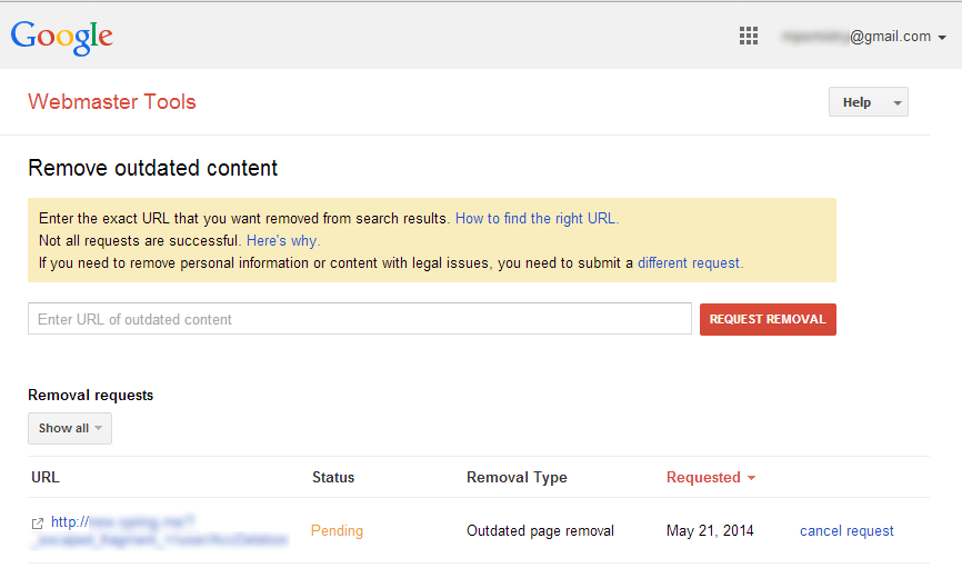 Remove Outdated Content From Google Search Webmaster
