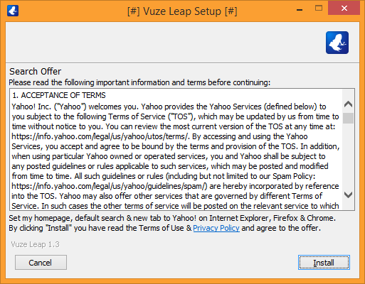 Tutorial - Adware/PUP in Vuze Leap and Vuze Torrent Client