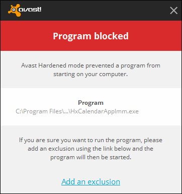 Q&A - How to Configure, Protect and Run Programs Blocked by Avast