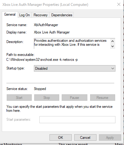 Troubleshoot - How to remove these Xbox services on Windows