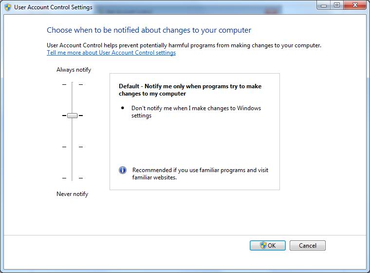 UAC или User Access Control - самое назойливое нововведение Windows Vista.