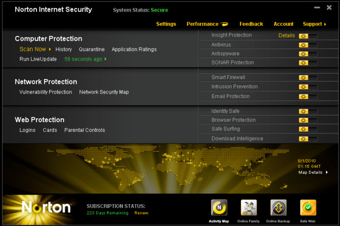 [REVIEW] Norton Internet Security 2011 – A perfect suite ?