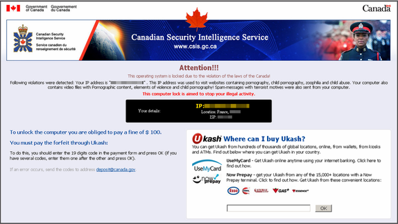 Remove Canadian Security Intelligence Service