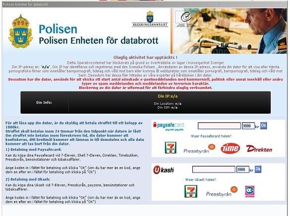 Remove Polisen Enheten for databrott virus (Uninstall Guide)