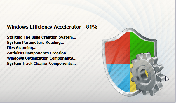 [Image: Windows Efficiency Accelerator Splash Screen]