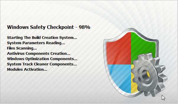 [Image: Windows Safety Checkpoint Splash Screen]
