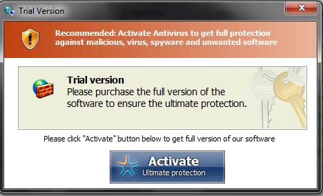 [Image: Windows Advanced Security Center Warning]