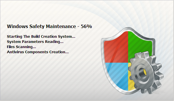 [Image: Windows Safety Maintenance Loading]