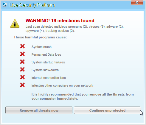 [Image: Live Security Platinum Alert]