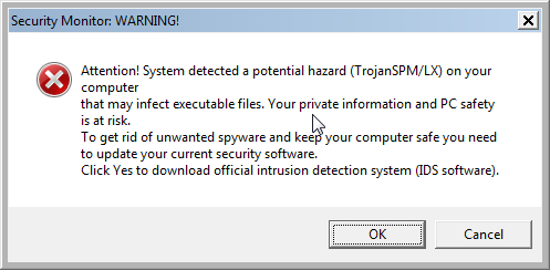 [Image: Live Security Platinum Warning]