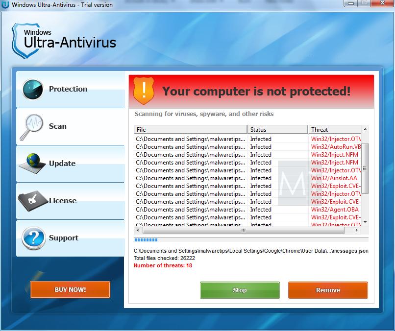 chrome antivirus scan