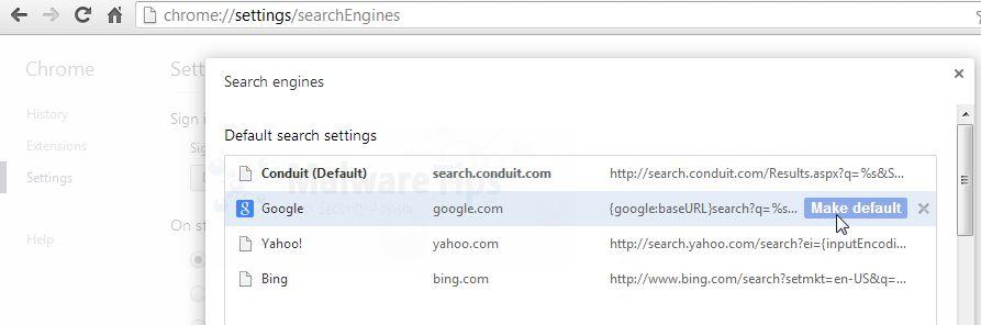 [Image: Revert Conduit Search engine]