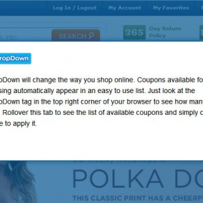 CouponDropDown malware