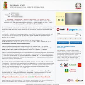 POLIZIA DI STATO ransomware