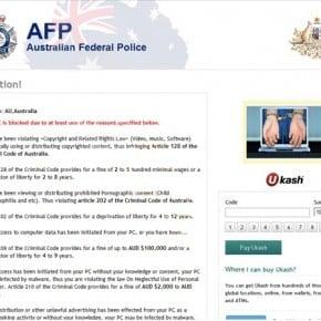 Australian Federal Police (AFP) virus