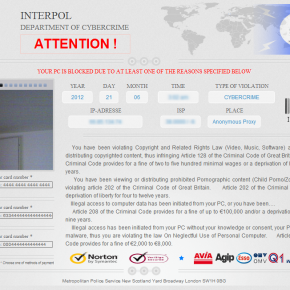 INTERPOL malware