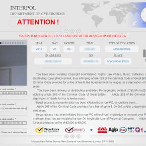 INTERPOL malware