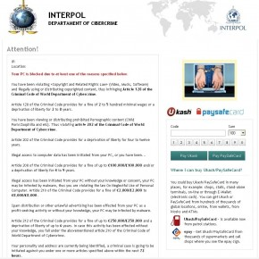 INTERPOL ransomware