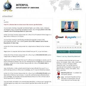 INTERPOL ransomware