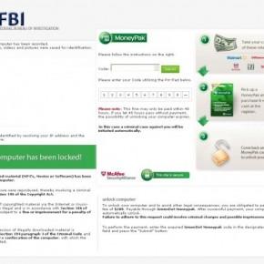 Your computer has been locked! fbi virus
