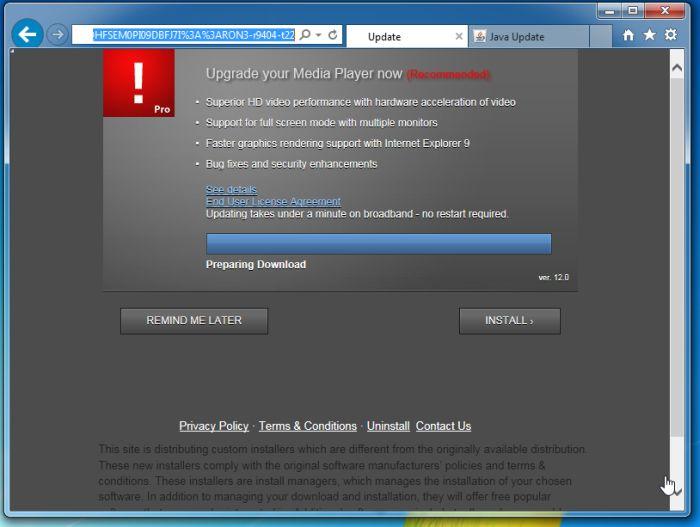 Malware Redirect