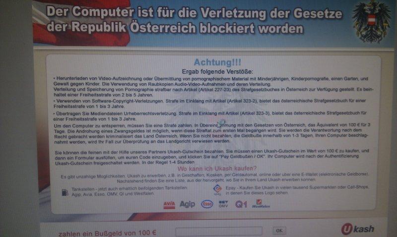 was ist ukash österreich