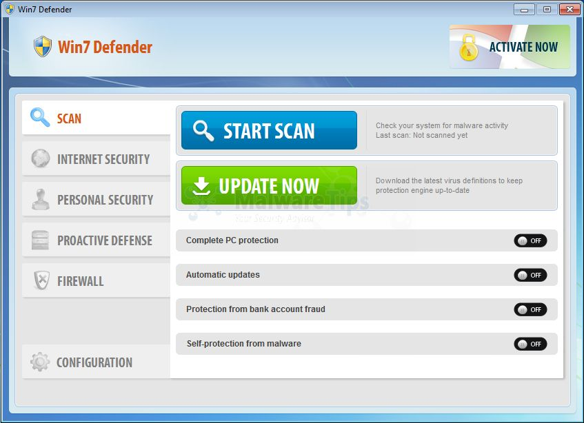 Image of Win7 Defender