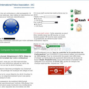 [Image: International Police Association Ukash virus]