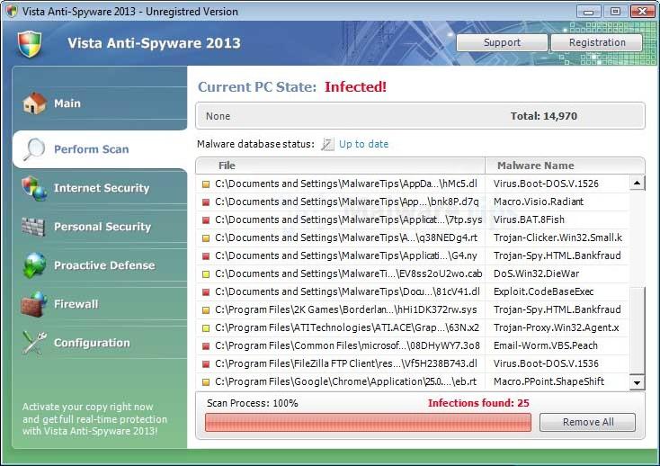 free spyware removal for windows vista
