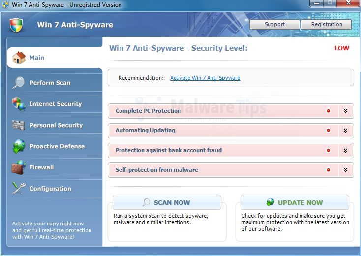 Remove Win 7 Anti Spyware 2013 Virus Uninstall Guide