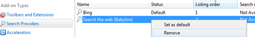 [Image: Remove Babylon Search from Internet Explorer]