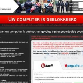 [Image: Uw computer is geblokkeerd virus]