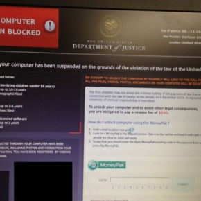 [Image: Department of Justice COMPUTER BLOCKED ]