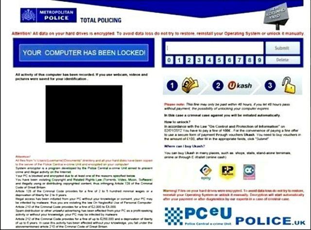 Mac Virus Removal >> Remove Metropolitan Police Total Policing virus (Ukash Scam)