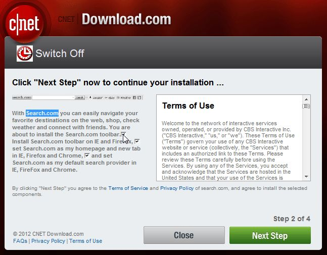 [Image: Search.com CNET download]