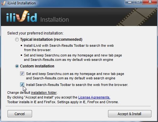 [Image: Search-ResultsToolbar installation process]