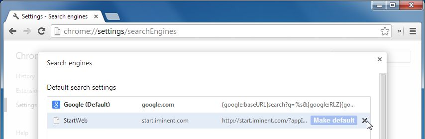 [Image: Iminent Search Chrome removal]