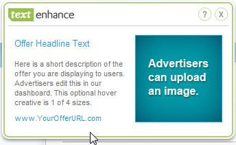[Image: Text Enhance advertisement]