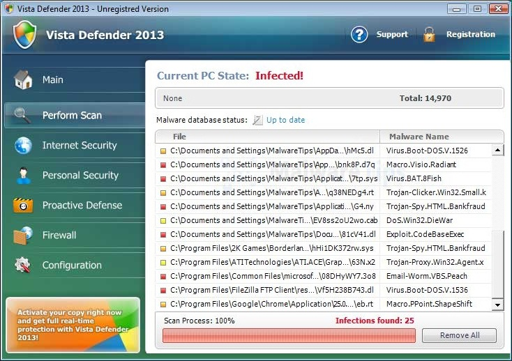 [Image: Vista Defender Plus 2013 virus]
