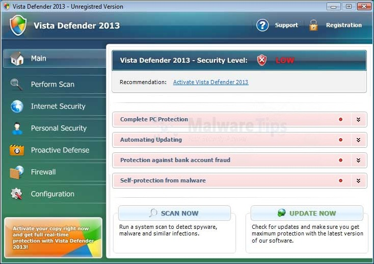 [Image: Vista Defender Plus 2013]