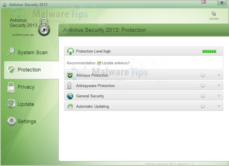 [Image: Antivirus Security 2013]